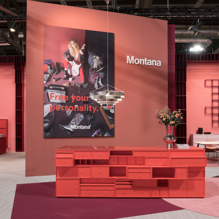 """Gewinner """"Best Stand at the Salone del Mobile"""" in der Kategorie """"Best Use of Colours"""""""